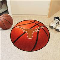 "Texas Longhorns Basketball Rug 29"" Diameter"