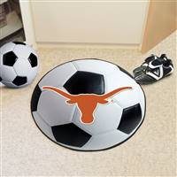 "Texas Longhorns Soccer Ball Rug 29"" Diameter"