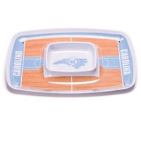 North Carolina Tar Heels Chip & Dip Tray