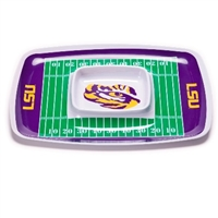 Louisiana State Tigers Chip & Dip Tray