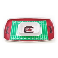 South Carolina Gamecocks Chip & Dip Tray