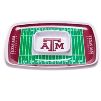 Texas A&M Aggies Chip & Dip Tray