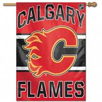 Calgary Flames Banner 28x40 - Special Order