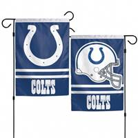 Indianapolis Colts Flag 12x18 Garden Style 2 Sided