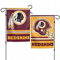 Washington Redskins Flag 12x18 Garden Style 2 Sided