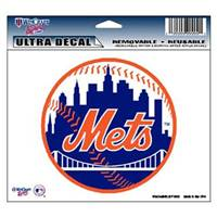 New York Mets Decal 5x6 Ultra Color