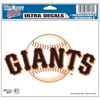 San Francisco Giants Decal 5x6 Ultra Color