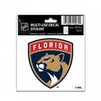 Florida Panthers Decal 3x4 Multi Use Color