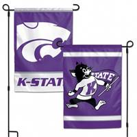 Kansas State Wildcats Flag 12x18 Garden Style 2 Sided