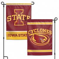 Iowa State Cyclones Flag 12x18 Garden Style 2 Sided