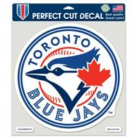 Toronto Blue Jays Decal 8x8 Perfect Cut  Color - Special Order