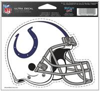 Indianapolis Colts Decal 5x6 Ultra Color