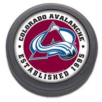 Colorado Avalanche Hockey Puck Packaged Est 1995 Design