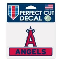Los Angeles Angels Decal 4.5x5.75 Perfect Cut Color - Special Order