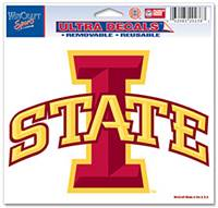Iowa State Cyclones Decal 5x6 Ultra Color