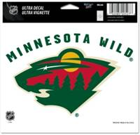 Minnesota Wild Decal 5x6 Ultra Color