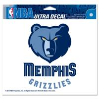 Memphis Grizzlies Decal 5x6 Ultra - Special Order