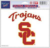 USC Trojans Decal 5x6 Ultra Color