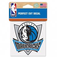 Dallas Mavericks Decal 4x4 Perfect Cut Color
