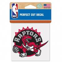 Toronto Raptors Decal 4x4 Perfect Cut Color