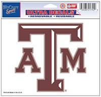 Texas A&M Aggies Decal 5x6 Ultra Color