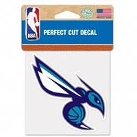 Charlotte Hornets Decal 4x4 Perfect Cut Color - Special Order