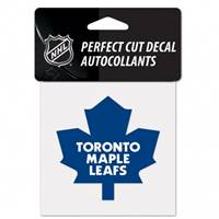 Toronto Maple Leafs Decal 4x4 Perfect Cut Color