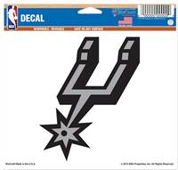 San Antonio Spurs Decal 5x6 Ultra