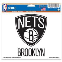 Brooklyn Nets Decal 5x6 Muti Use Color