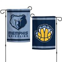 Memphis Grizzlies Flag 12x18 Garden Style 2 Sided