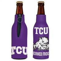 TCU Horned Frogs Bottle Cooler