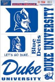 Duke Blue Devils Decal 11x17 Ultra