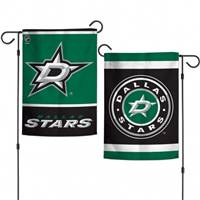 Dallas Stars Flag 12x18 Garden Style 2 Sided - Special Order