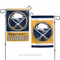Buffalo Sabres Flag 12x18 Garden Style 2 Sided - Special Order