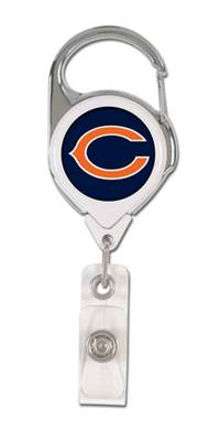 Chicago Bears Retractable Premium Badge Holder