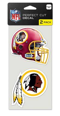 Washington Redskins Set of 2 Die Cut Decals
