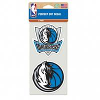 Dallas Mavericks Set of 2 Die Cut Decals