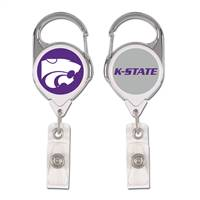 Kansas State Wildcats Badge Holder Premium Retractable - Special Order