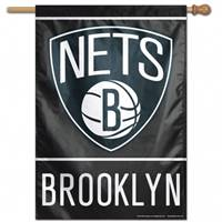 Brooklyn Nets Banner 28x40 Vertical - Special Order