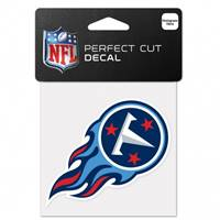 Tennessee Titans Decal 4x4 Perfect Cut Color