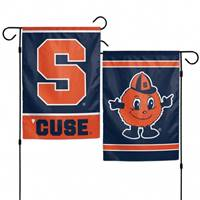 Syracuse Orange Flag 12x18 Garden Style 2 Sided