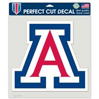 Arizona Wildcats Tide Decal 8x8 Perfect Cut Color