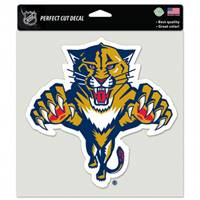 Florida Panthers Decal 8x8 Perfect Cut Color - Special Order