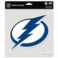 Tampa Bay Lightning Decal 8x8 Perfect Cut Color