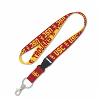 USC Trojans Lanyard with Detachable Buckle