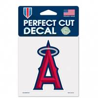 Los Angeles Angels Decal 4x4 Perfect Cut Color