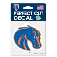 Boise State Broncos Decal 4x4 Perfect Cut Color