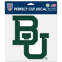 Baylor Bears Decal 8x8 Perfect Cut Color