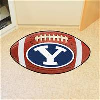 "Brigham Young University Football Mat 20.5""x32.5"""