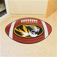 "Missouri Tigers Football Rug 22""x35"""